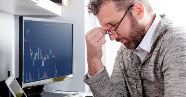 market slump