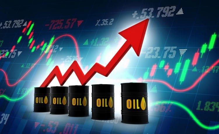 Oil rises