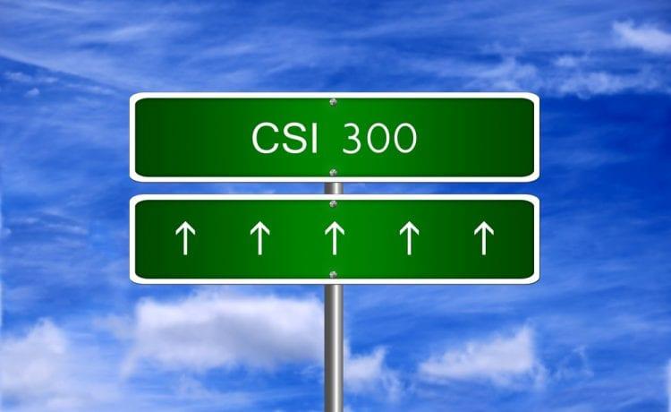 CSI 300 index
