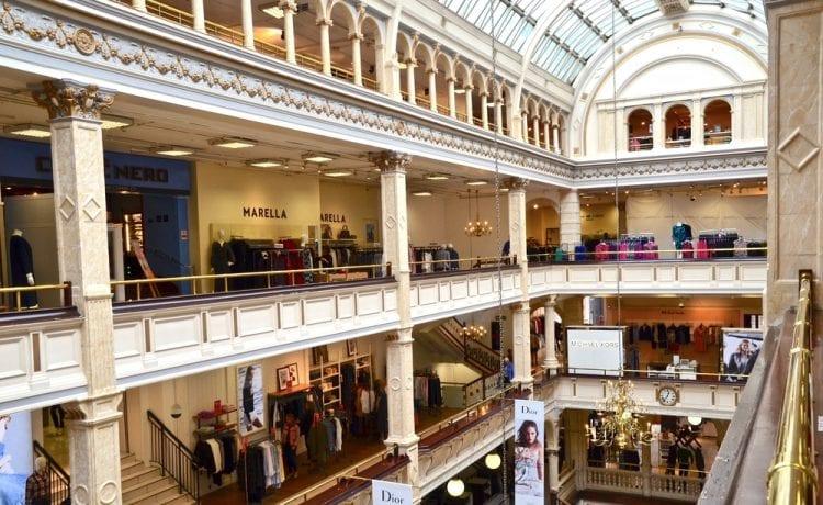 Scottish shopping centre
