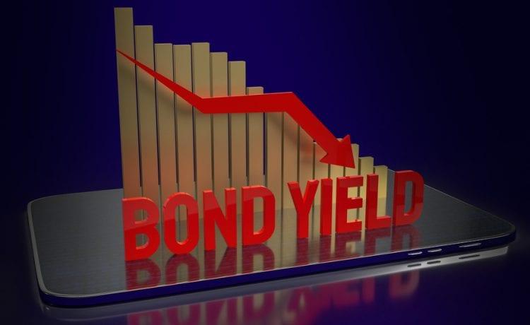 bond yields drop