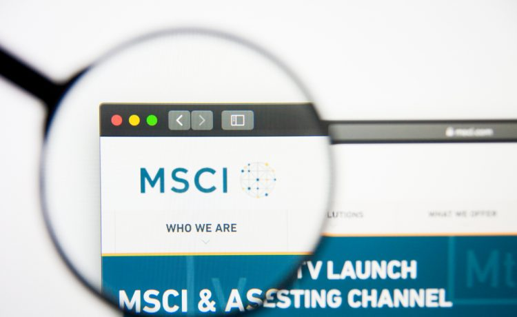 MSCI's broadest index