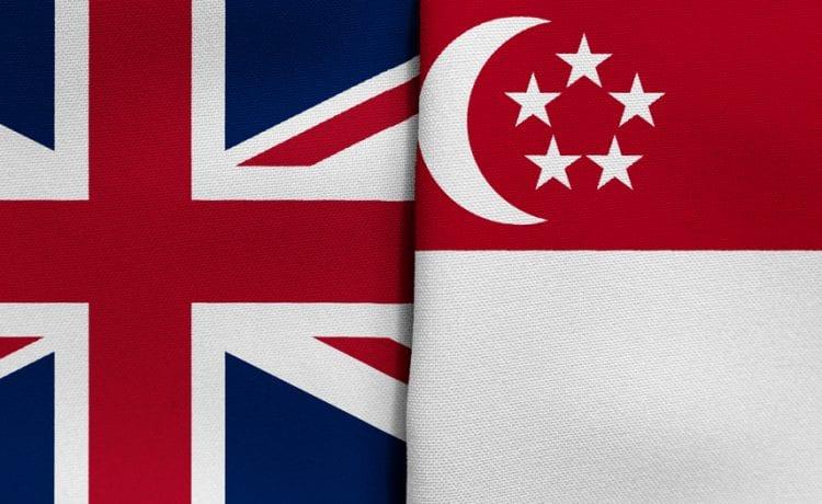UK and Singapore