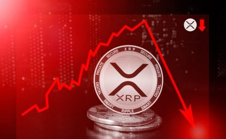 XRP drops