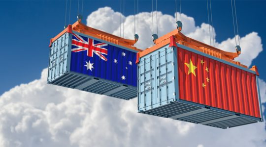 China importing Australian